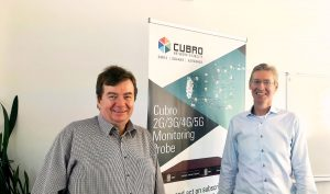 Christian Ferenz, CEO, Cubro with Niklas Gustavsson, Technical Expert, SilverEngine