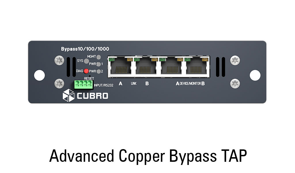 cubro advanced copper bypass - front view