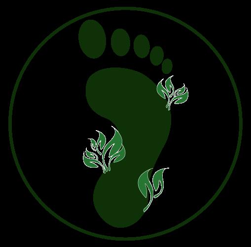 Cubro icon eco footprint