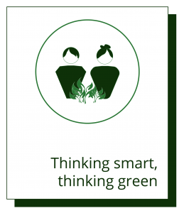 teaser of cubro's thinking green topic