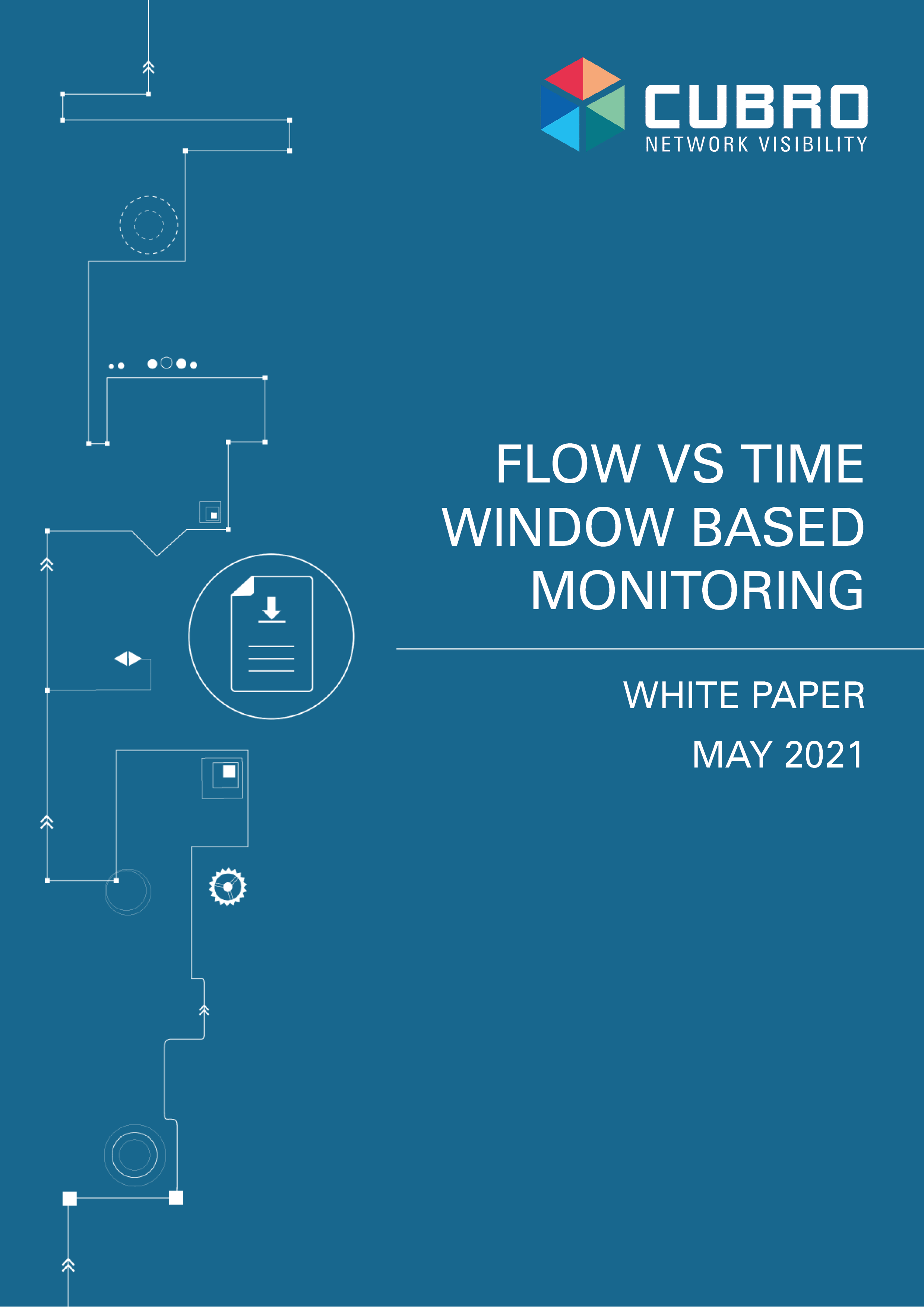 Frontpage of White Paper: Flow time window based monitoring