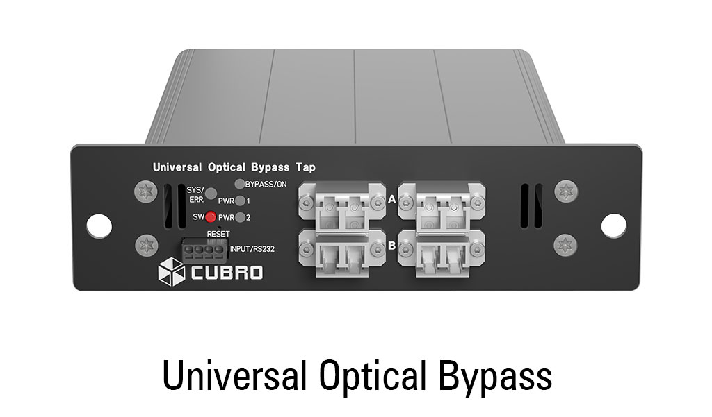cubro universal bypass - top view